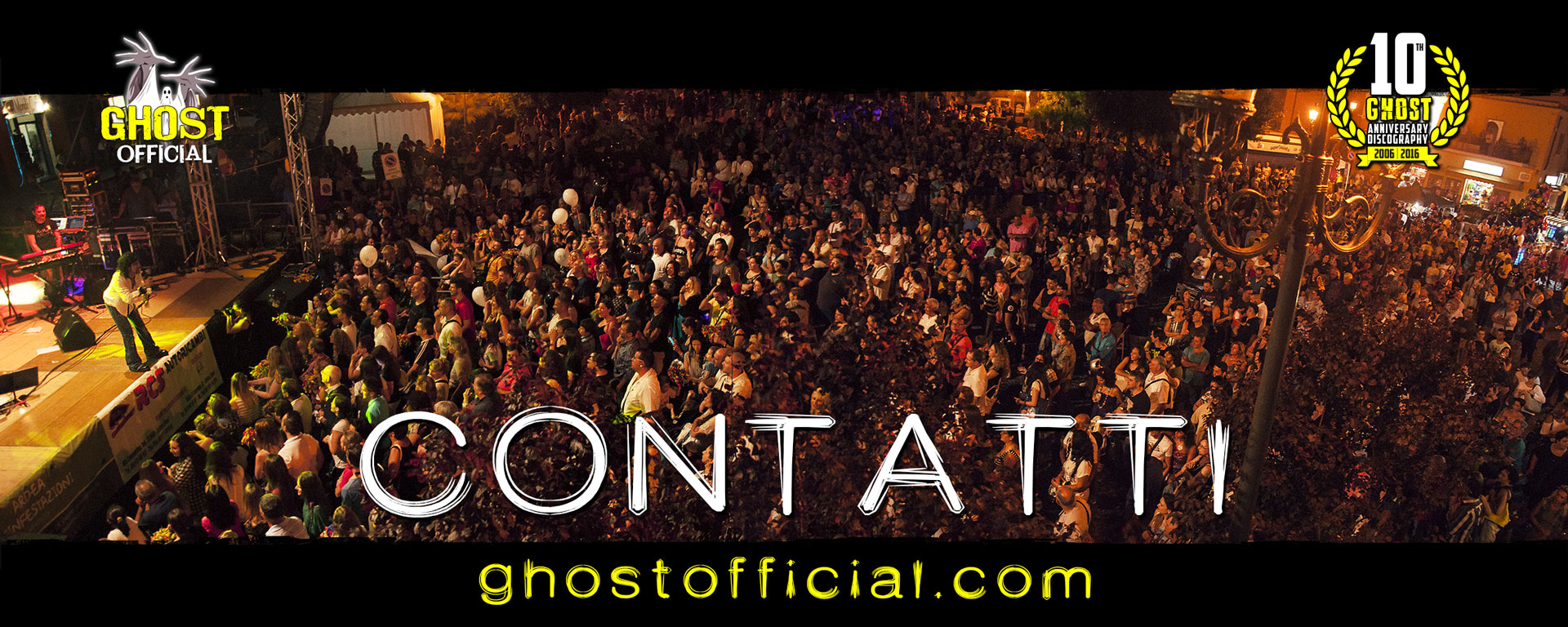 Ghost Official - Foto Live Concerto